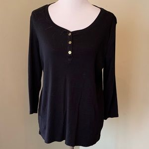 Size XL Basic Editions Black Top